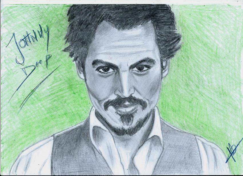 Johnny Depp by isabella1988